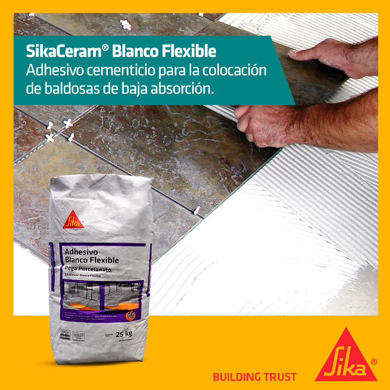Sikaceram Blanco Flexible